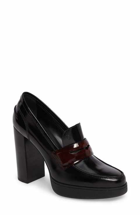 ebay cheap online outlet low price fee shipping Tod's Platform Loafer Pumps clearance factory outlet FPYvuA1am