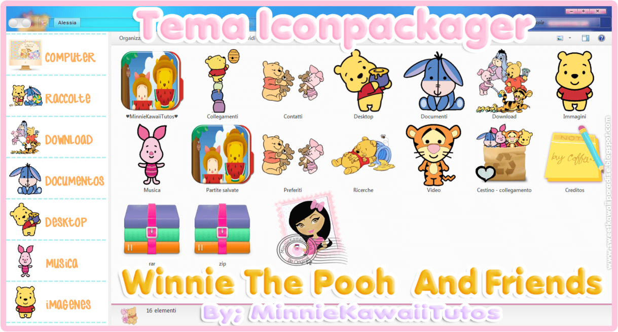 Tema iconpackager winnie pooh and friends by minniekawaiitutos tema iconpackager winnie pooh and friends by minniekawaiitutos voltagebd Gallery