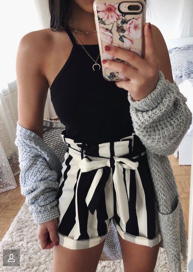 Süßes Date-Night / Night-Outfit (natürlich ohne Pullover) - Kleider #datenightoutfit