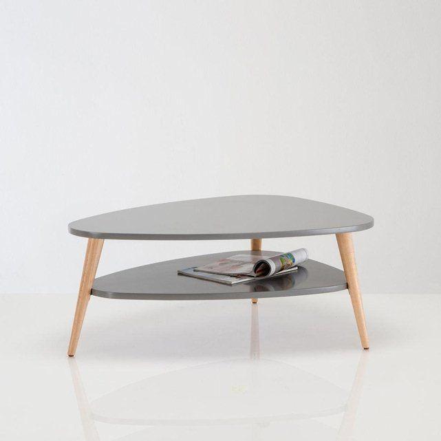 table basse vintage double plateau jimi la redoute interieurs meubles pinterest la. Black Bedroom Furniture Sets. Home Design Ideas
