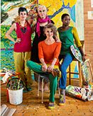 Vibrant artists – GUDRUN SJÖDÉN – Webshop, mail order and boutiques | Colorful clothes and home textiles in natural materials.
