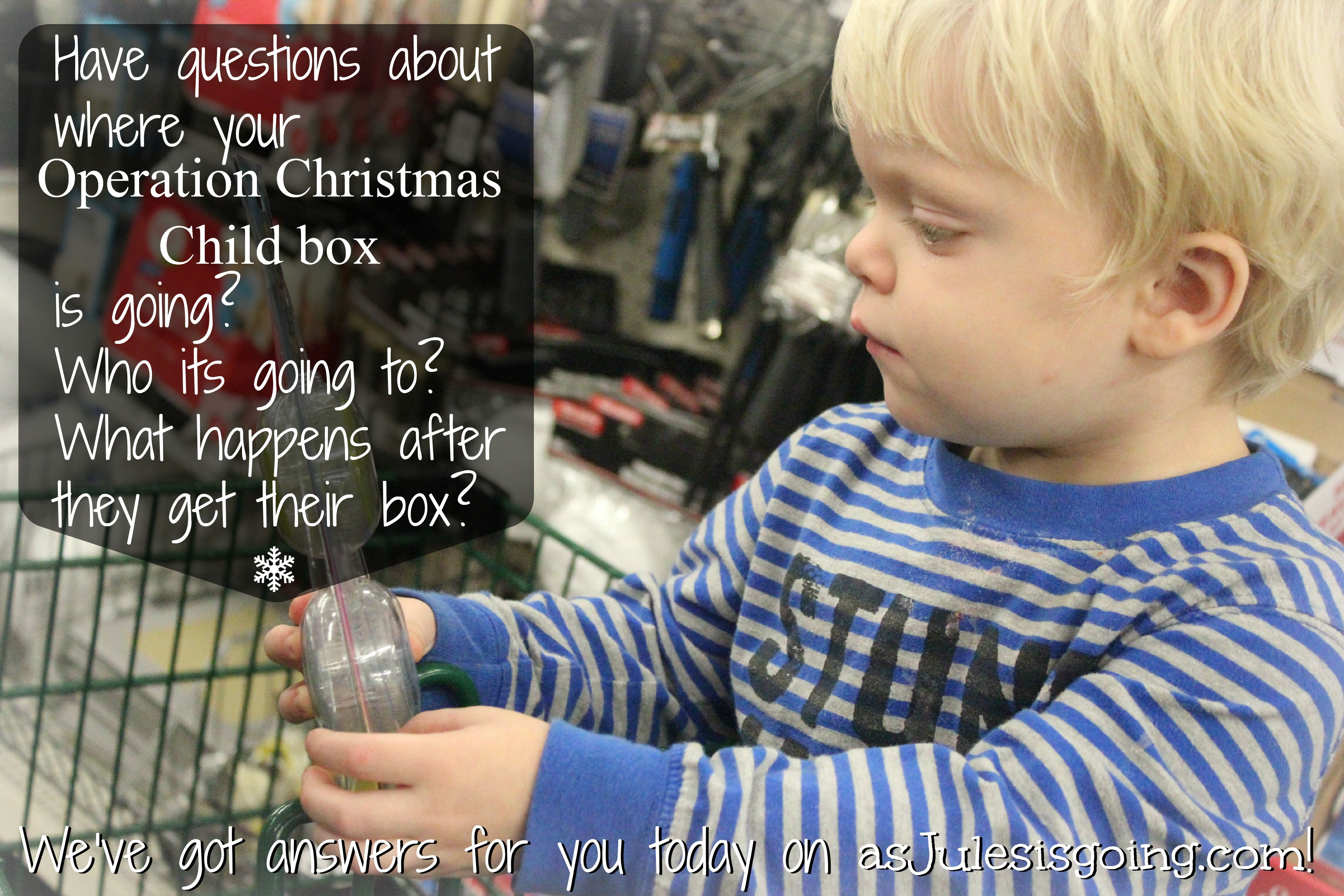Operation Christmas Child Questions Answered