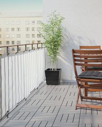 Dyning Balcony Privacy Screen White 98 3 8x31 1 2 Intimite De Balcon Brise Vue Pour Balcon Petits Espaces En Plein Air