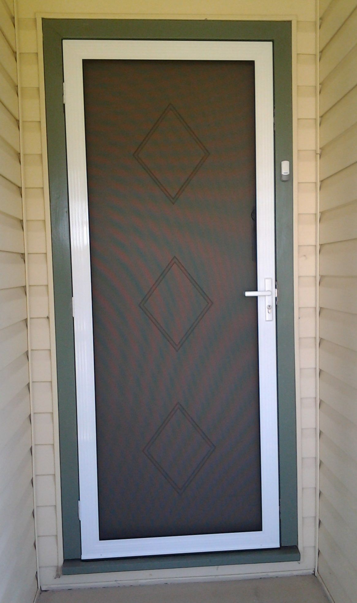 Secureview Hinged Security Screen Door Stainless Steel