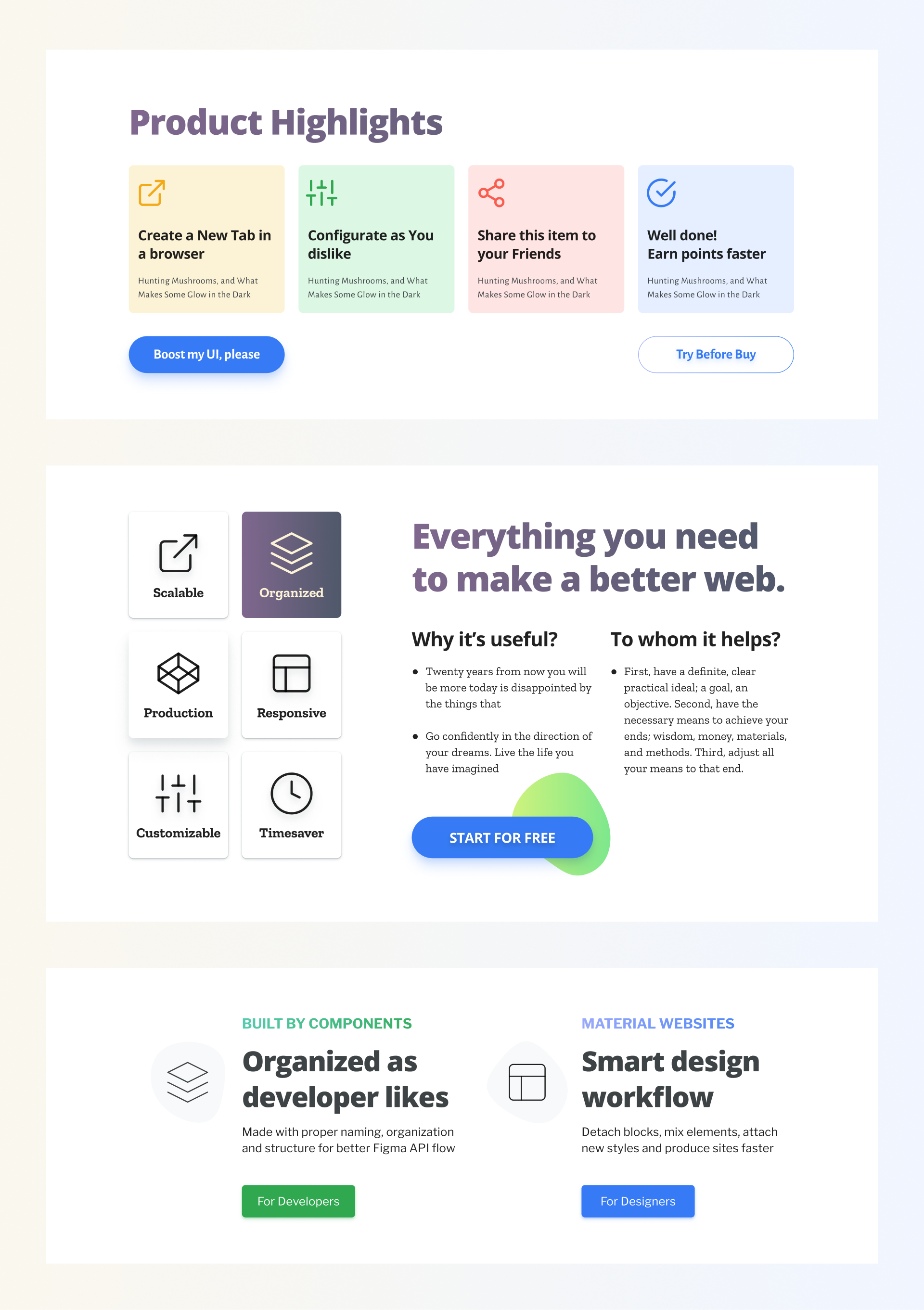 Material Webdesign Toolkit Is A Quicker Way To Deploy Trustful