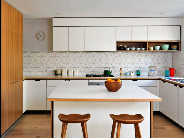 How to create a mid century inspired kitchen mid - Mid century kitchen cabinets ...