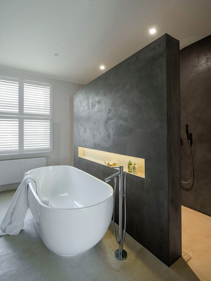Tub In Front Of Shower Wall Bathroom Cheap Bathroom Suites Bathroom Interior