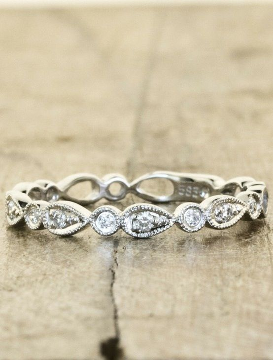 40 Gorgeous Wedding Bands for Women Promise rings Ring and Weddings