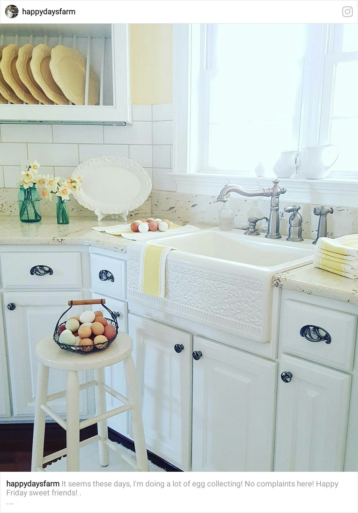 Pin by Yonnie Smith on Stylish Kitchens - The Farmhouse/Country Look ...