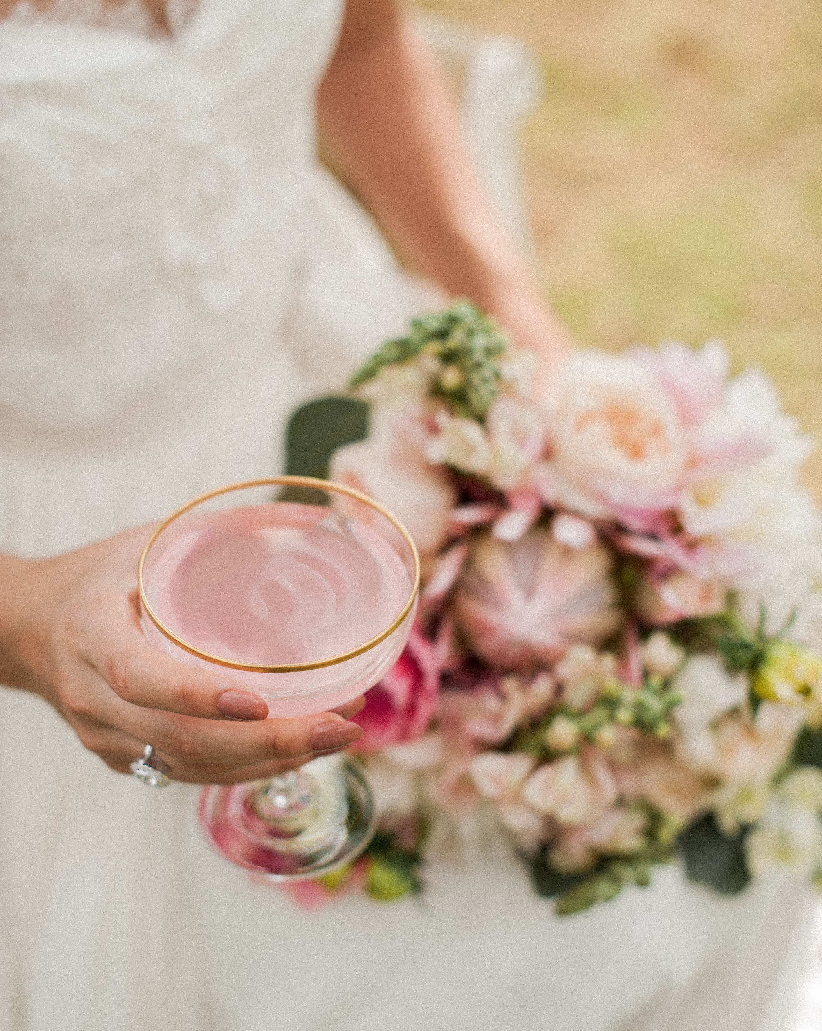Blush toned hawaiian wedding at the white orchid beach house design