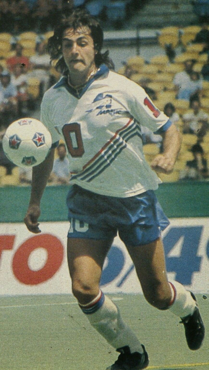 JeanFrancois Larios of Montreal Manic of Canada in 1983