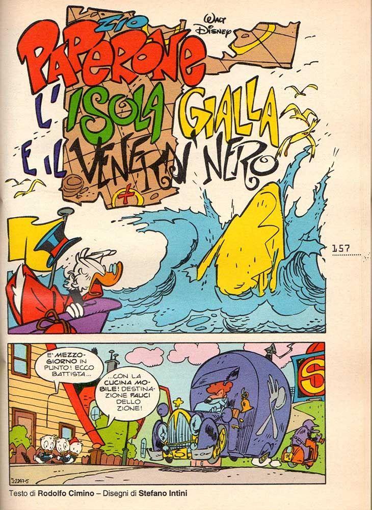 Zio Paperone L'Isola Gialla e Il Venerdì Nero - Uncle Scrooge, Donald Duck and Huey Dewey Louie, in FabioC.'s DISNEY Comic Art Gallery Room - 1135172