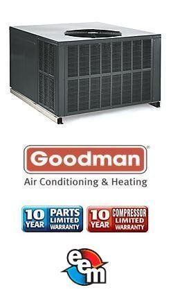 3 5 Ton 13 Seer Goodman Package Heat Pump Gph1342m41 By Goodman
