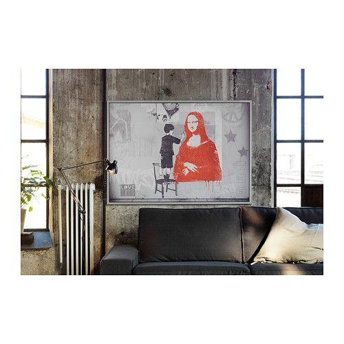 Vilshult poster con cornice ikea soggetto di tom frazier for Portaspezie da appendere ikea