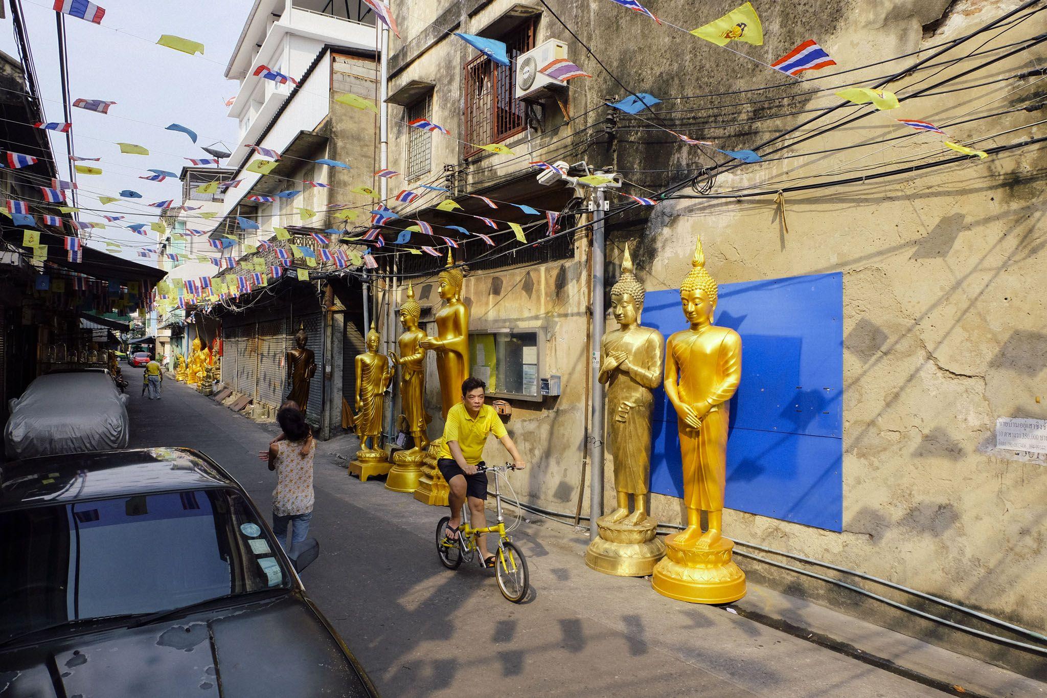 Bangkok's historic Phra Nakhon district still contains