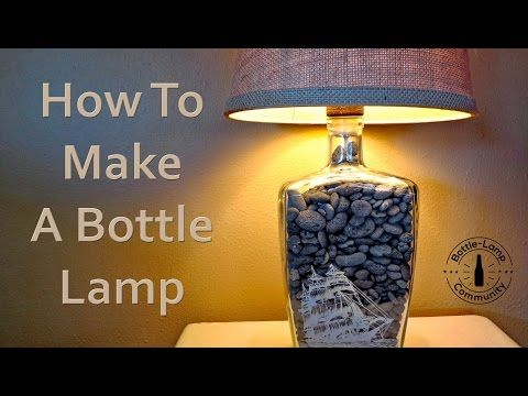 Glass drilling tips by Nick from Bottle-Lamp com, a