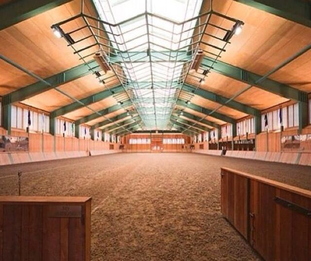 Oh..my..god... This is my dream arena!! I love all the natural light!