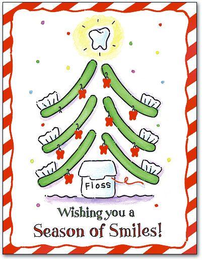 Toothbrush Tree Smile 4 Up Laser Card Smartpractice Dental Dental Jokes Dental Dental Art