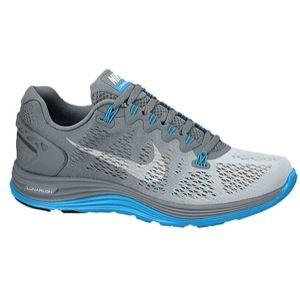 d62de2fe440f Nike Lunarglide Plus 5 Women s Cool Grey White Blue Hero Fade ...