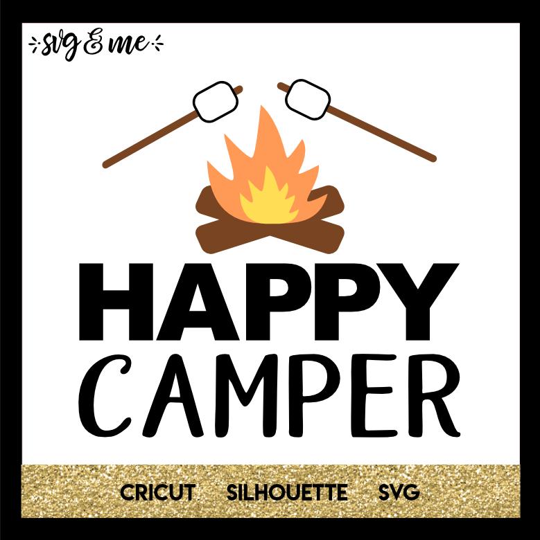 Happy Camper Happy campers, Camping signs, Cricut