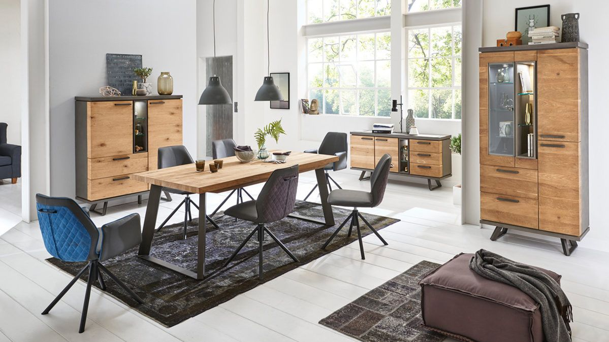 Restaurant Esszimmer Herxheim Woods Trends Sideboard Im Industrial Style Eiche Cigar Brown