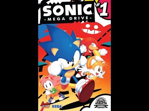 sonic comics dubbed sonic mega drive 1 complete youtube