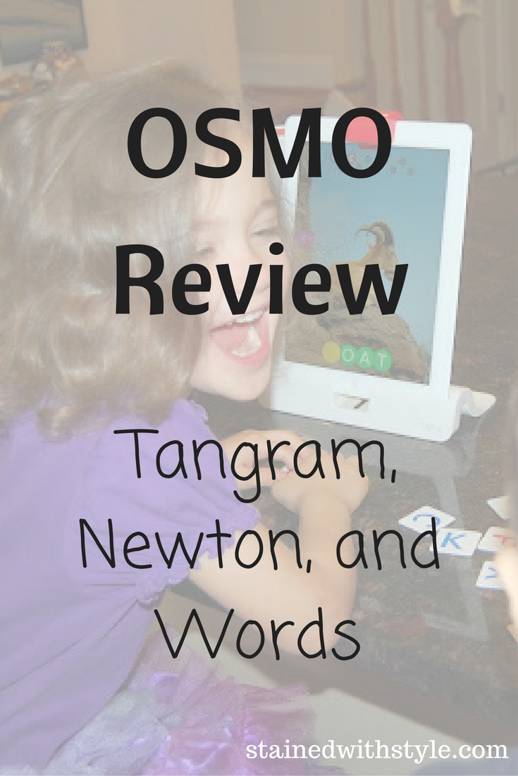 osmo review tangram newton and words  like magic but