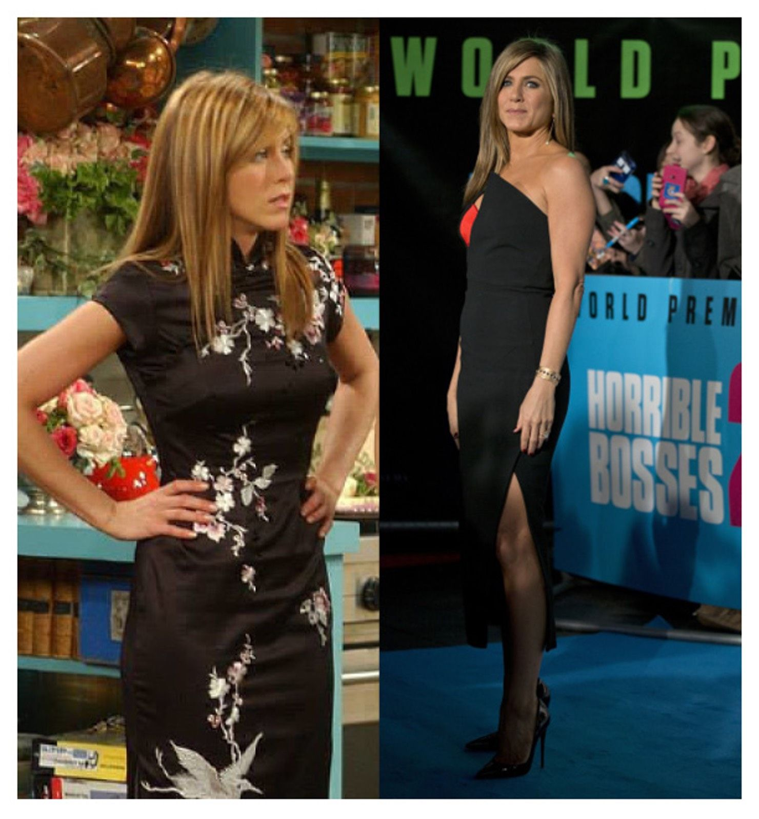 15 Times Rachel Green Dressed Better Than Jennifer Aniston Though It Was Certainly A Close Competition Dresses Green Dress Fashion Outfits [ 1596 x 1480 Pixel ]
