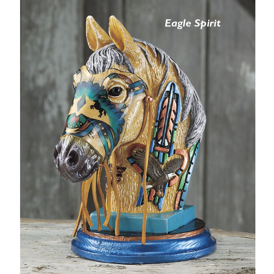 Horse Western Home D Cor Accessories Equestrian Themes: Eagle Spirit Horse Statue