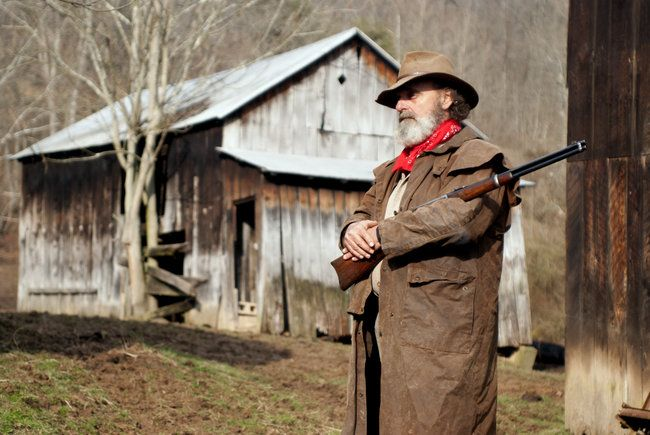 Trapper By The Barn Westvirginia Mountain Monsters
