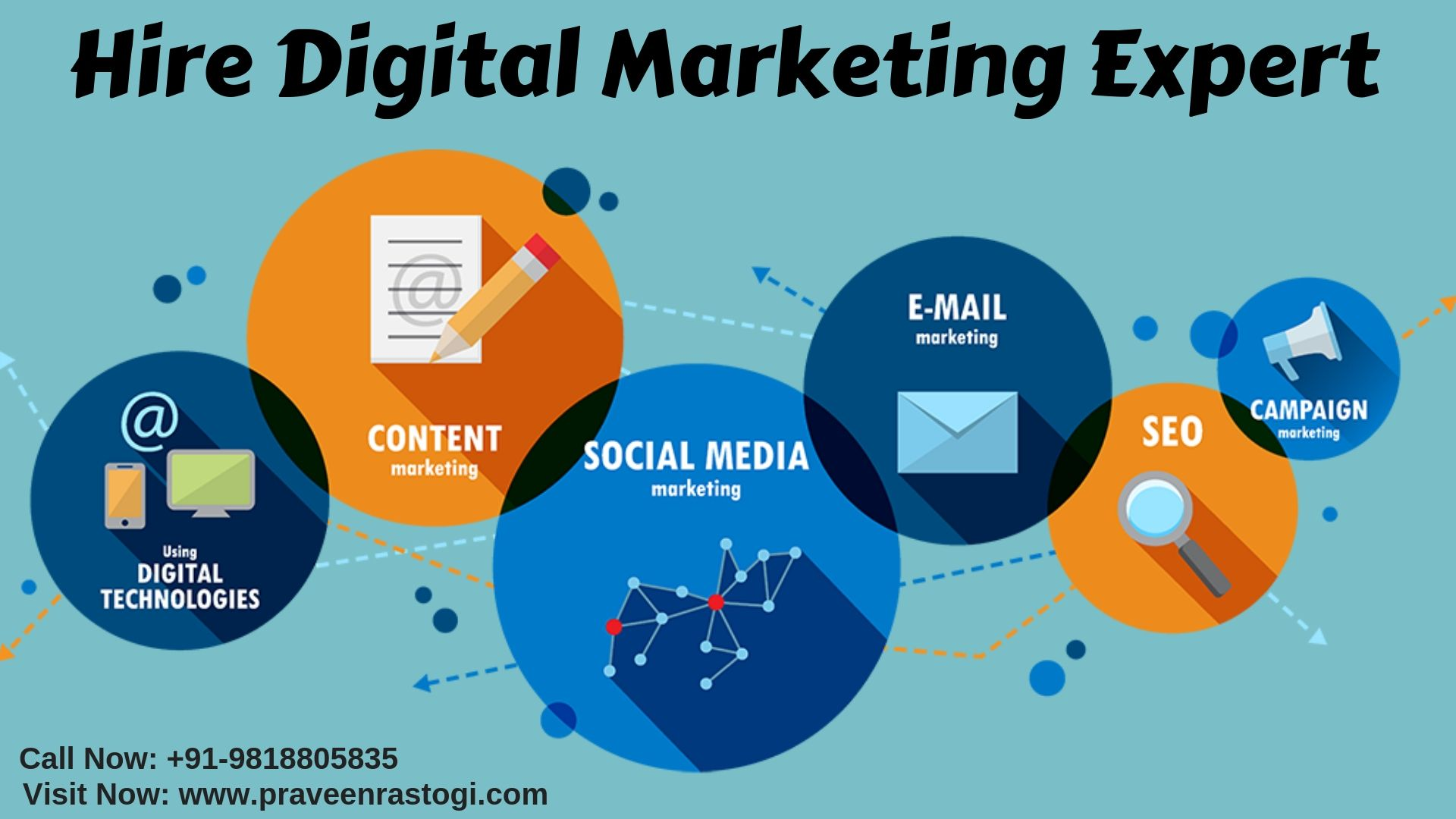 Hire digital marketing expert in USA for full-suite digital