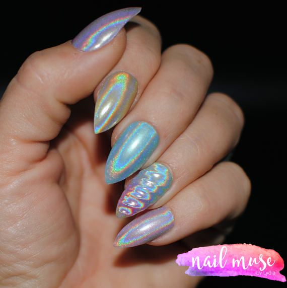 Unicorn Horn Press On Nails