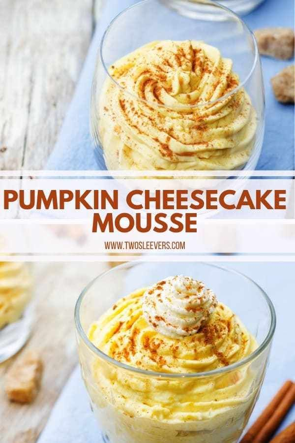Pumpkin Cheesecake Mousse | Quick & Easy Fall Dessert! - #cheesecake #dessert #mousse #pumpkin #quick - #PumpkinCheesecakeRecipe