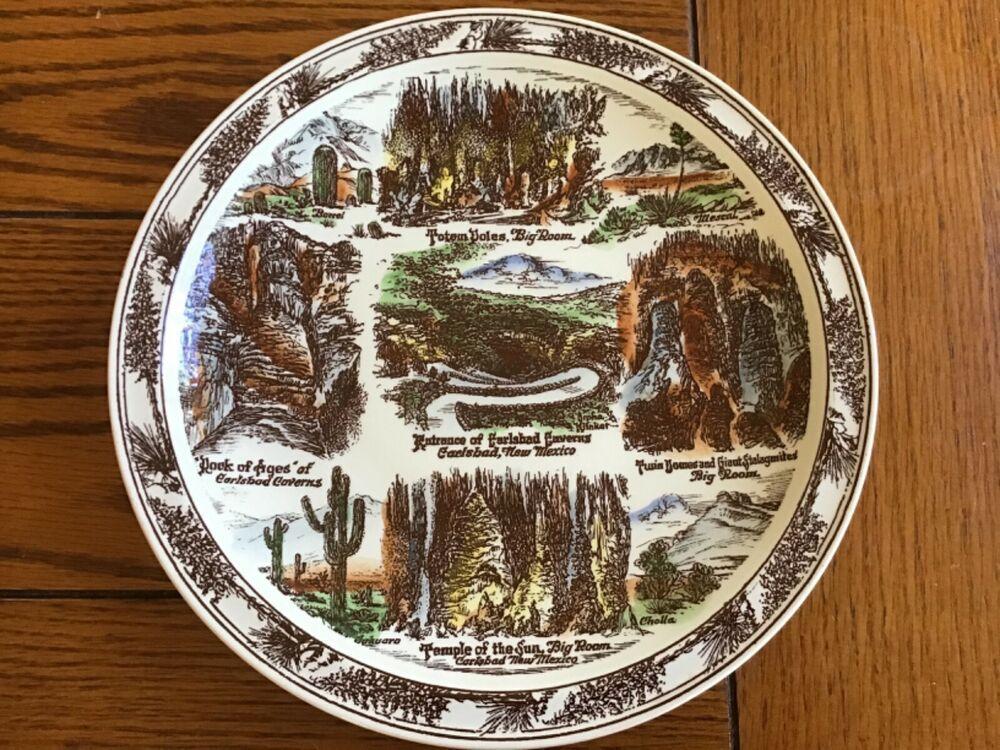 Vernon Kilns New Mexico collectors plate