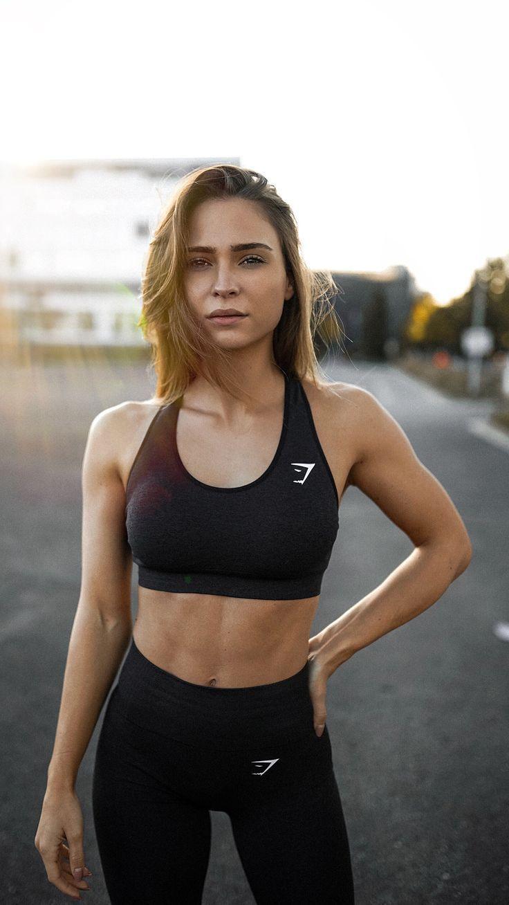 Gymshark Vital Seamless Sports Bra - Black Marl