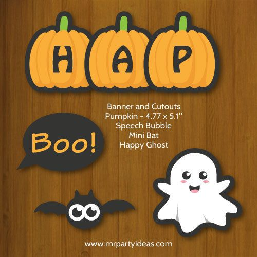 Halloween is coming soon! Have you decided on the Halloween - print halloween decorations
