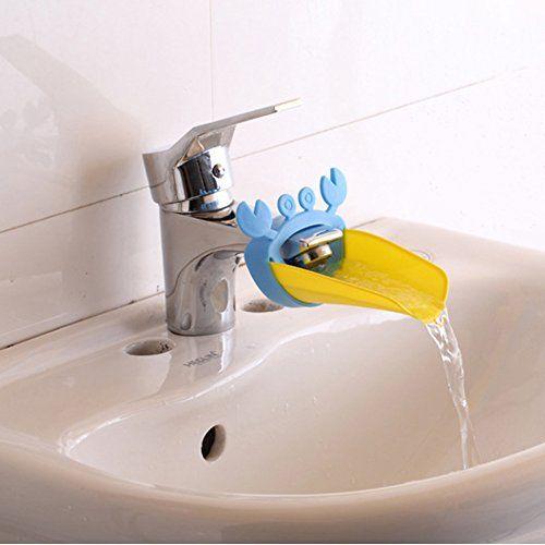 Robot Check Faucet Extender Sink Toddler Bathroom