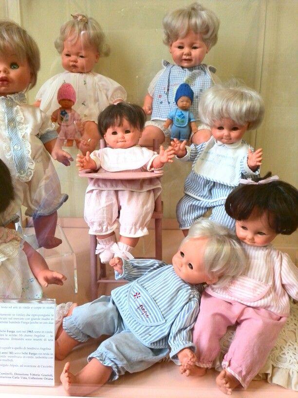 Bambole furga anni 60 | Bambole antiche, Bambole, Peluche