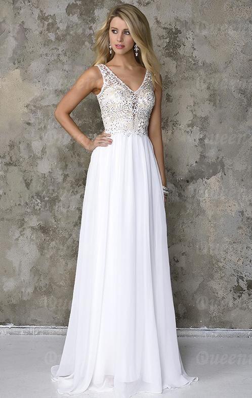 vestido-de-fiesta-de-noche-de-mujer-largo-blanco-encaje-gasa