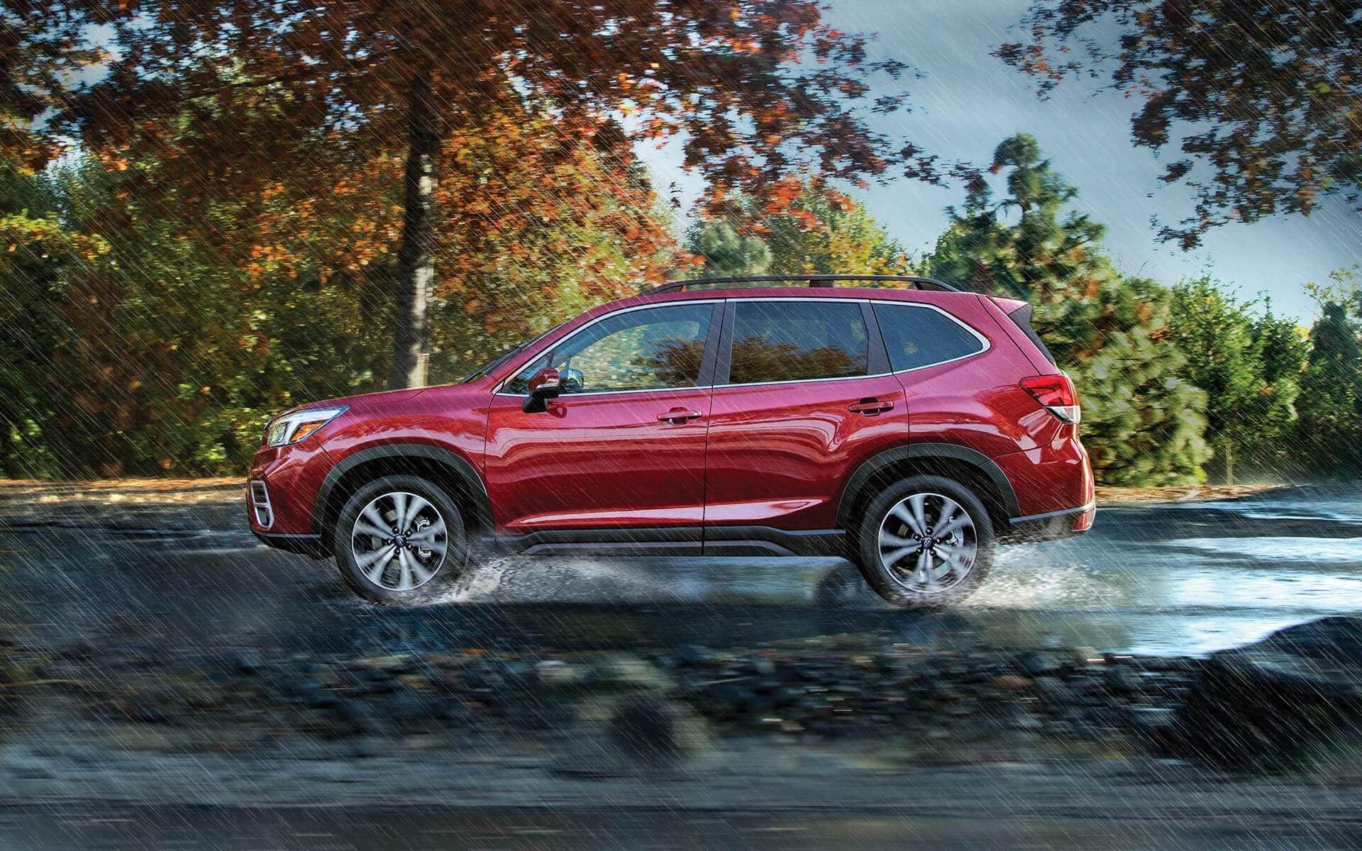 2019 Nissan Rogue in Covington, LA vs Subaru Forester