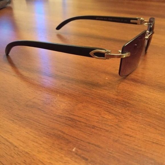 c44db3099da5 Cartier Black Buffalo Horn Sunglasses Not price firm Cartier Accessories  Glasses