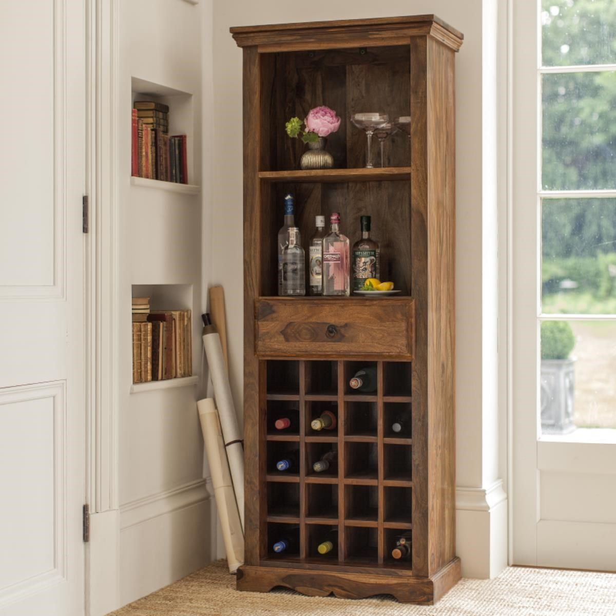 Navigating A Wine Shop Wooden Wine Cabinet Wine Cabinets Cabinet