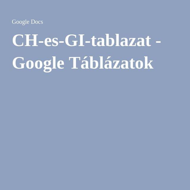 google fogyás táblázat)