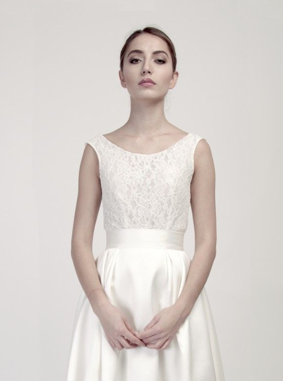 BD3 Lace bridal top