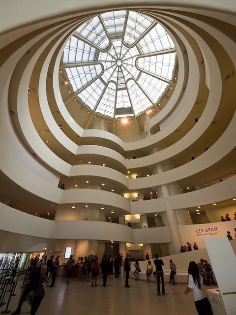 Solomon R Guggenheim Museum Guggenheim Museum Frank Lloyd Wright Architecture Frank Lloyd Wright Guggenheim