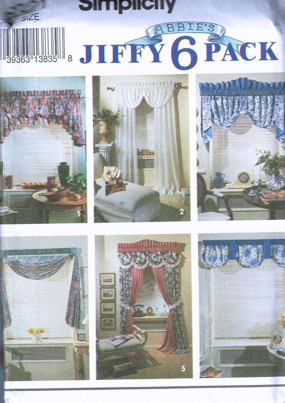 Curtain Swag Patterns Free Patterns Swag Curtains Curtains