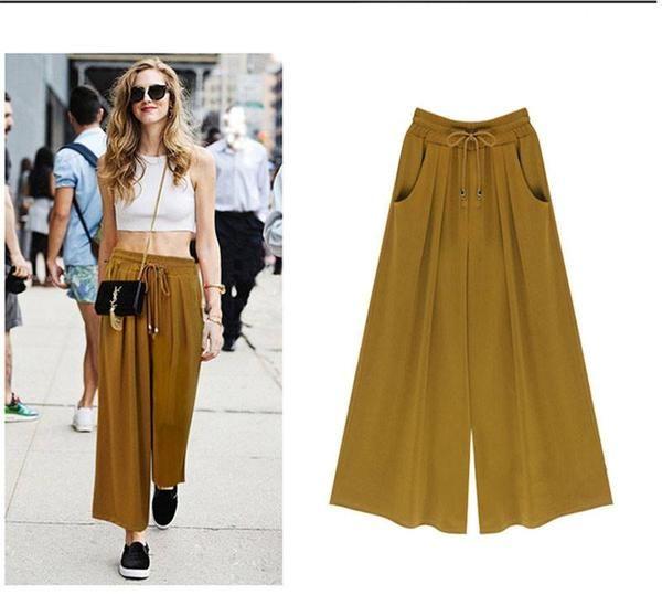 1ecd96a87672a LA Wide Leg Pants - Dulce Vida Clothing Company