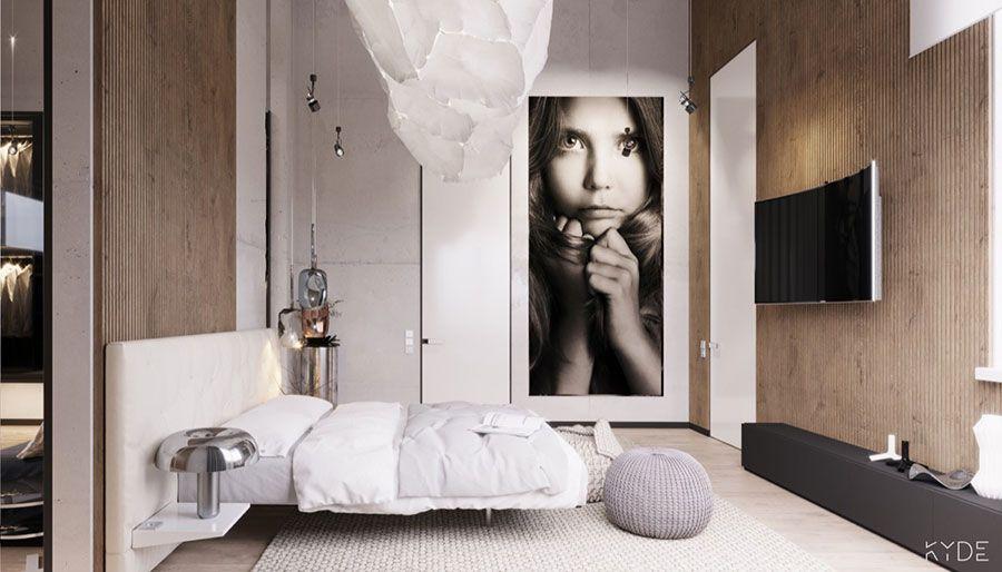 Camera Da Letto Vintage Moderno : Come arredare coi quadri: idee in stile moderno minimal pop e