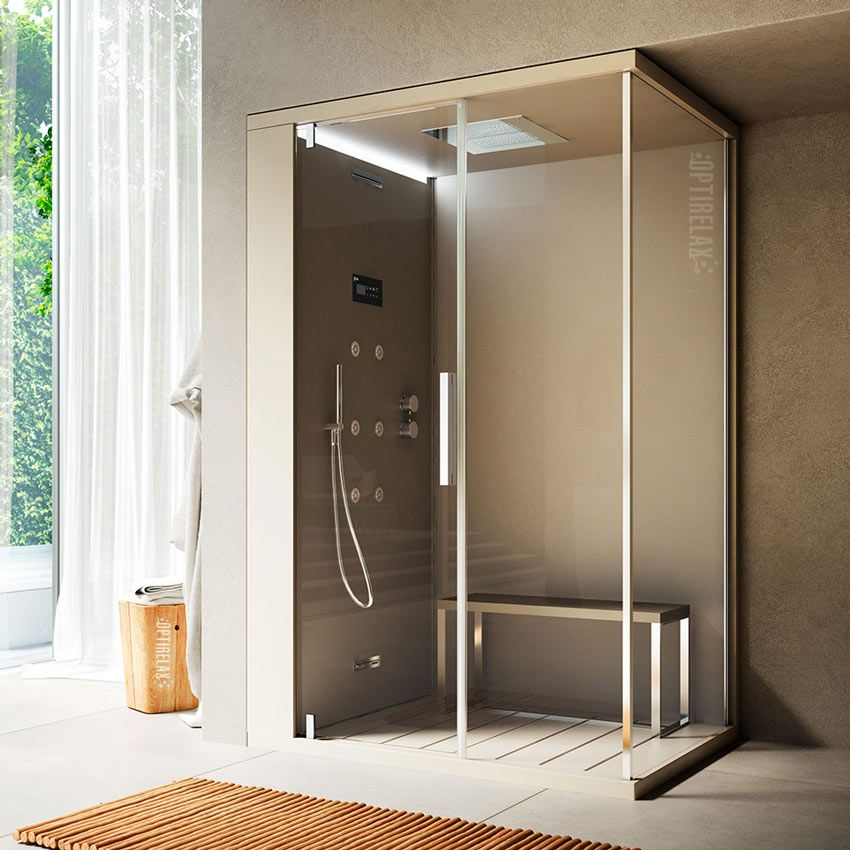 Dampfdusche OPX-G Garbo | Dampfdusche | Pinterest | Steam showers ...