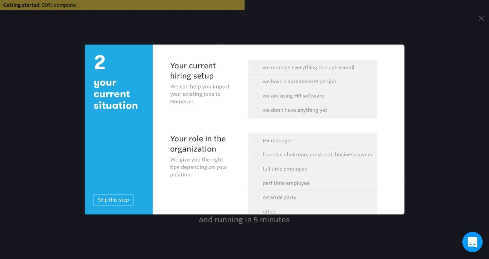 Screenshot Of Onboarding